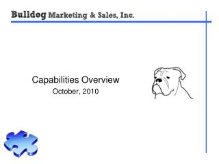 Capabilities Overview October, 2010