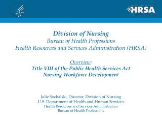 Bureau of Health Professions, HRSA
