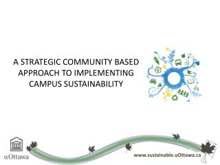 A Strategic Community Based Approach to Implementing Campus Sustainability