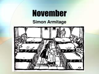 november by simon armitage essay