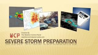 Severe Storm Preparation