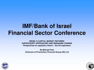 IMF/Bank of Israel Financial Sector Conference