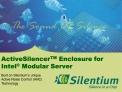 ActiveSilencerTM Enclosure for  Intel  Modular Server