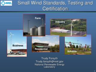 Small Wind Standards, Testing and Certification