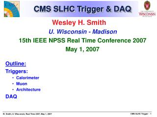 CMS SLHC Trigger & DAQ