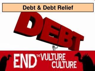 Debt & Debt Relief