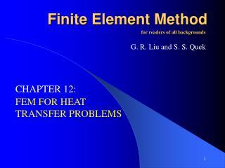 F inite Element Method