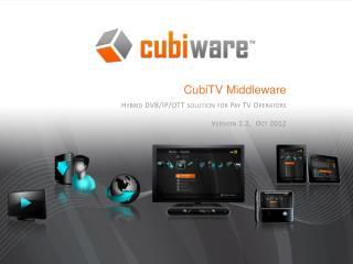 CubiTV  Middleware