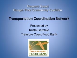 Treasure Coast  Hunger Free Community Coalition