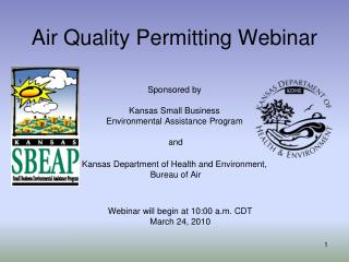 Air Quality Permitting Webinar