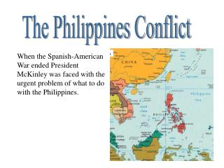 The Philippines Conflict