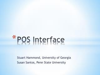POS Interface