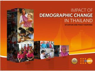 Demographic Transition in Thailand