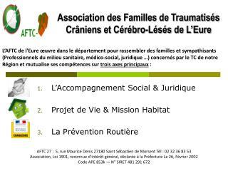Association des Familles de Traumatisés Crâniens et Cérébro-Lésés de L'Eure