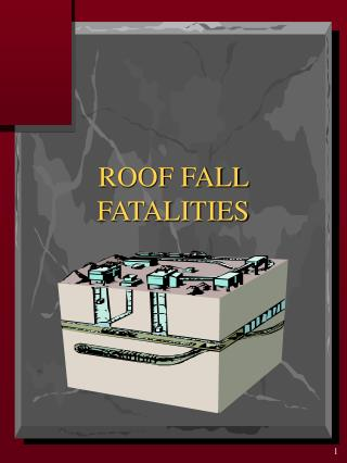 ROOF FALL FATALITIES