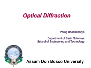 Diffraction and Fresnel Zones