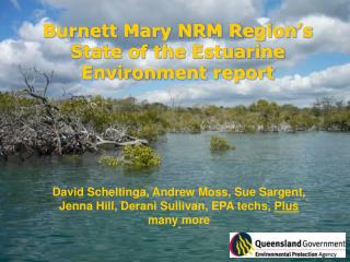 Burnett Mary NRM Region's State of the Estuarine Environment report