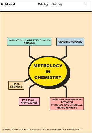 THE GENERAL AIM OF ANALYTICAL CHEMISTRY IS TO MAKE