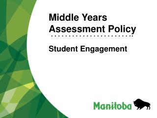 Middle Years Assessment Policy   Student Engagement