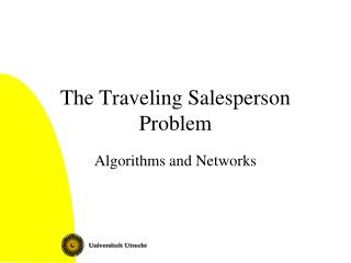 The Traveling Salesperson Problem