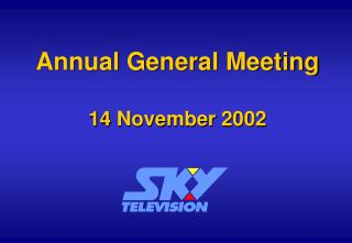 Annual General Meeting 14 November 2002