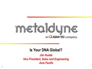 Is Your DNA Global?