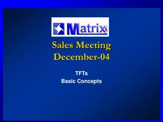 Sales Meeting December-04