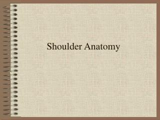 Anatomy Power Point Presentation