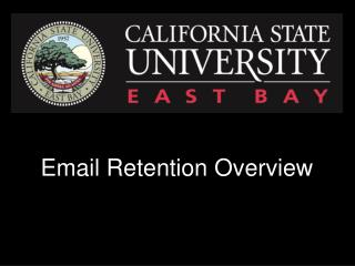 Email Retention Overview