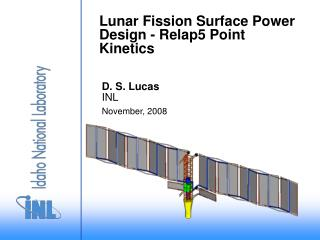 Lunar Fission Surface Power Design - Relap5 Point Kinetics