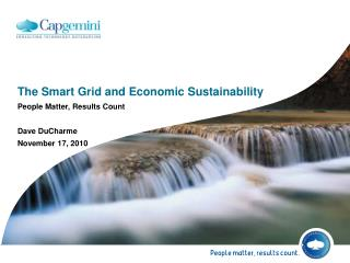 The Smart Grid and Economic Sustainability