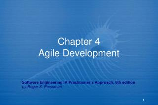 Chapter 4 Agile Development