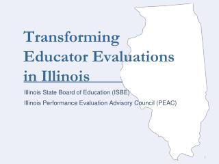 Transforming Educator Evaluations in Illinois