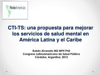 CTI-TS: una propuesta para mejorar los servicios de salud mental en América Latina y el Caribe