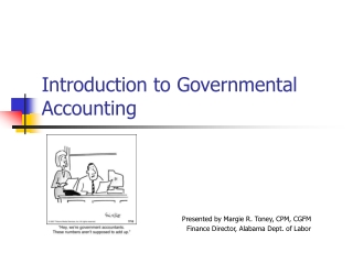 Governmental Operating Statement Accounts; Budgetary Accounting