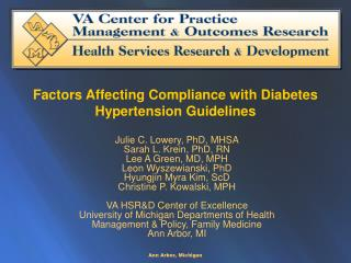 Factors Affecting Compliance with Diabetes Hypertension Guidelines
