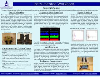 Instrumented  Workboot