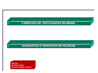 DIAGNÓSTICO E PROPOSTAS DE POLÍTICAS