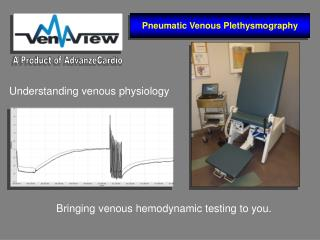 Bringing venous hemodynamic testing to you.