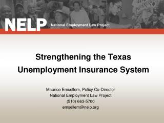 Strengthening the Texas Unemployment Insurance System