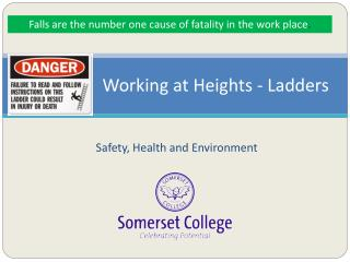 Working at Heights - Ladders