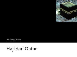 Haji dari Qatar