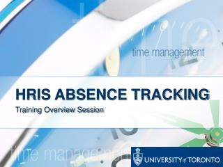 HRIS ABSENCE TRACKING