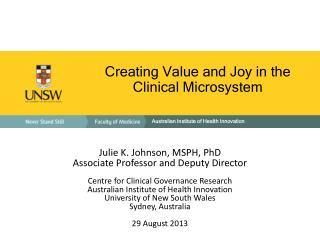 Australian Institute of Health Innovation