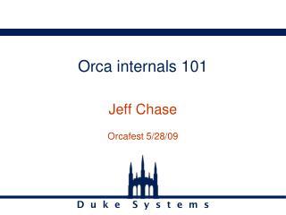 Orca internals 101