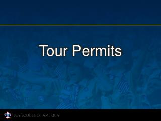 Tour Permits