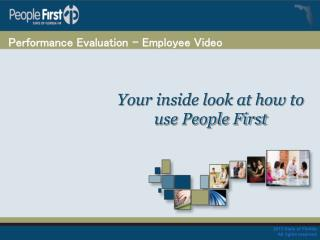Performance Evaluation – Employee Video