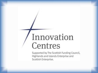 Innovation  Centre –  Sensor and Imaging Systems