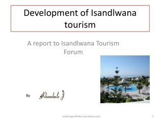 Development of Isandlwana tourism