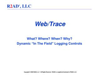 Web/Trace